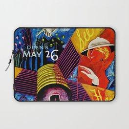 Retro 1934 Chicago World's Fair Travel Poster Laptop Sleeve