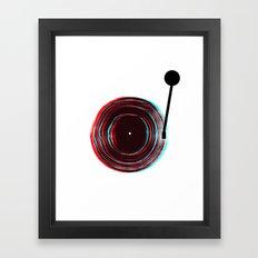 Vinyl Player Framed Art Print