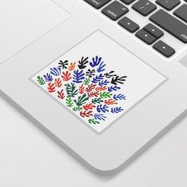 Matisse Floral Pattern #1 Sticker