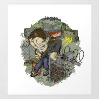 Adrenaline Rush (Elements Of Graffity series) Art Print