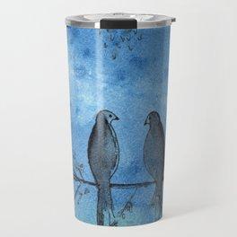 Two little birds Travel Mug