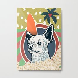 Dogs and Politics Metal Print