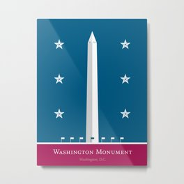 America: Washington Monument Metal Print