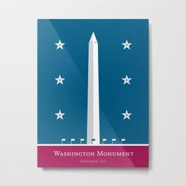 America: Washington Monument Metal Print