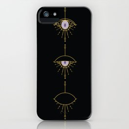 Evil Eye Sequential iPhone Case