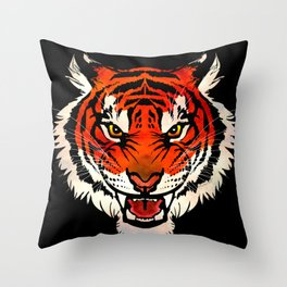 Burning Bright Throw Pillow