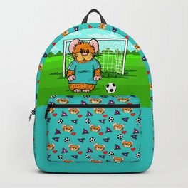Hammys Soccer bag for Caity Backpack