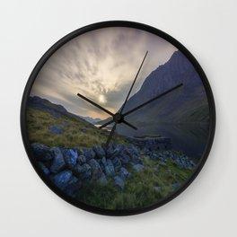 Llyn Ogwen Sunrise Wall Clock