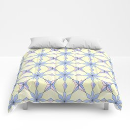 symetric patterns 19 -mandala,geometric,rosace,harmony,star,symmetry Comforters