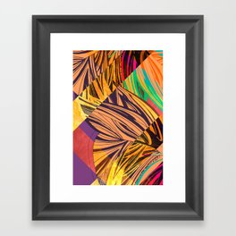 Mad Butterfly Framed Art Print