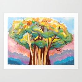 The Illuminated Tree Art Print