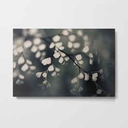 Delicate Leaves Metal Print