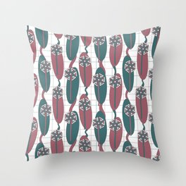 Mod Dandelion Throw Pillow