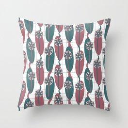 Mod Dandelion Throw Pillow