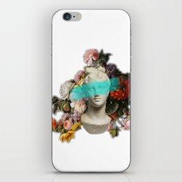 Blue feelings iPhone Skin