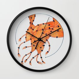 Loose Ends Wall Clock