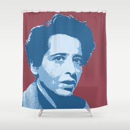 Hannah Arendt Shower Curtain