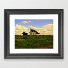 Canary Cottage, Thorney, UK Framed Art Print
