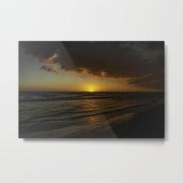 Deep Sunset Metal Print