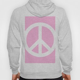 Peace (White & Pink) Hoody