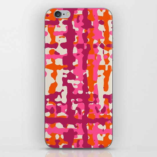 hot weave iPhone & iPod Skin