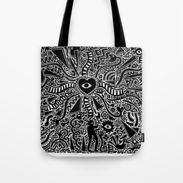 Snakes, ladders and love Tote Bag