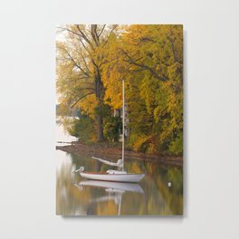 Sailboat, Alburgh, VT Metal Print