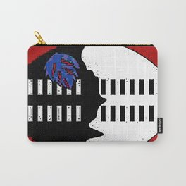 Swaziland Map with Swazi Flag Carry-All Pouch