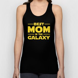 Best Mom in the Galaxy Unisex Tank Top