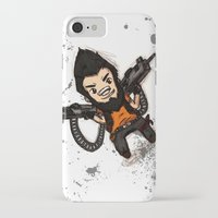 borderlands iPhone & iPod Cases featuring Borderlands 2 - Chibi Gunzy! by Emme Gray