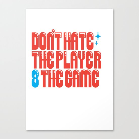 Don't 8 Canvas Print