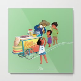 Our ice cream Metal Print