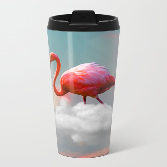 My Home up to the Clouds Metal Travel Mug
