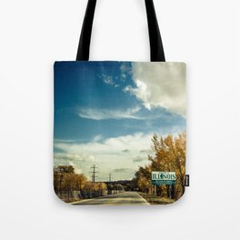 By The Riverside #5 Tote Bag