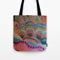 trippy Tote Bags featuring Trippy by sheuh