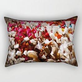 Paper flowers Rectangular Pillow