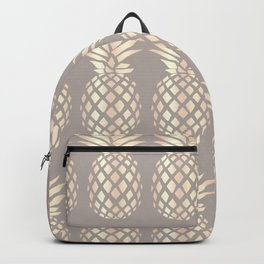 Pretty copper rose gold pineapple Backpack
