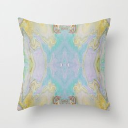 Cool Calm and Collected Throw Pillow