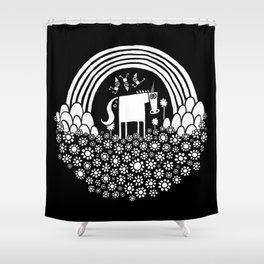 Magic Super Fun Time Land Shower Curtain