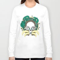 banana Long Sleeve T-shirts featuring Banana by Albory