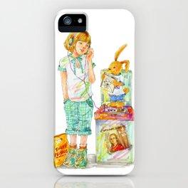 Indie Pop Girl vol.2 iPhone Case