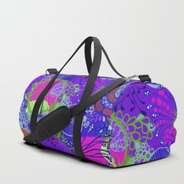 Oh the violets Duffle Bag