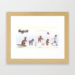 Disorganized Framed Art Print