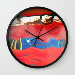 Weeping forest Wall Clock