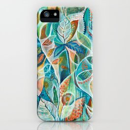 Secret Garden by Justine Aldersey-Williams iPhone Case