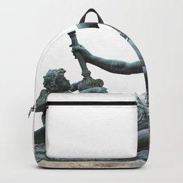 Sculpture of Zeus in Versailles Backpack