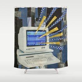 Future Music Shower Curtain