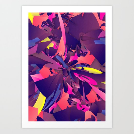 Psychotic Art Print