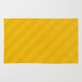 Selective Yellow Crisscross Rug