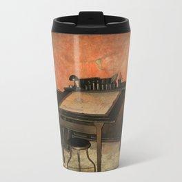 Antique Nautical Desk  Travel Mug